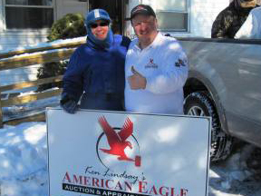American Eagle Auction & Appraisal Company does it again in cold hard cash at this real estate auction