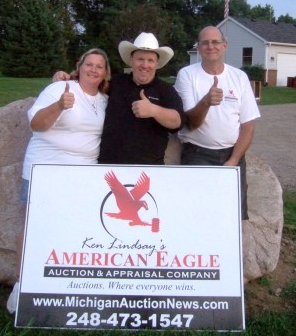 Michigan auction company with estate auction owners