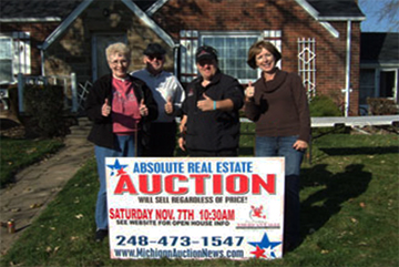 Roseville Michigan auction real estate