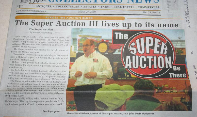 The Auction Process of Selling a Collection