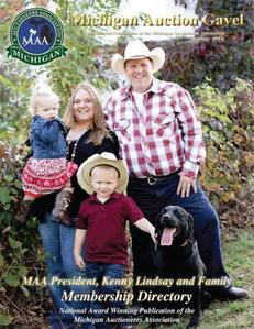 Image of Professional Auctioneer Kenny Lindsay and Family
