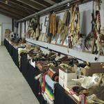 This auction produced nearly 650 attendees to buy firearms, taxidermy and knives
