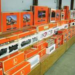 Thousands of Lionel trains were sold at public auction. Buyers came from all around the country