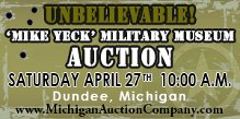 Auctioneers make great certified appraisers on Military memorabilia